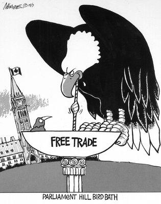 Steve Nease Editorial Cartoons: Parliament Hill Bird Bath