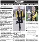 Irish dancer earns top spot at first regional championships