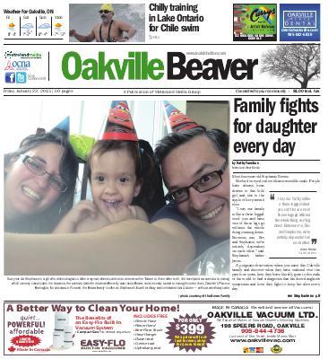 Oakville Beaver, 23 Jan 2015