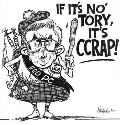 Steve Nease Editorial Cartoons: If It's Not Tory It's Crap!