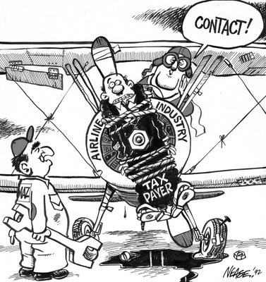 Steve Nease Editorial Cartoons: CONTACT!