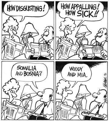 Steve Nease Editorial Cartoons: Woody & Mia