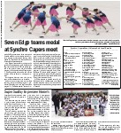 Seven Edge teams medal at Synchro Capers meet