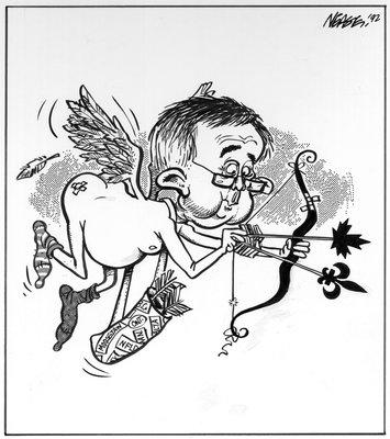 Steve Nease Editorial Cartoons: Joe Cupid?