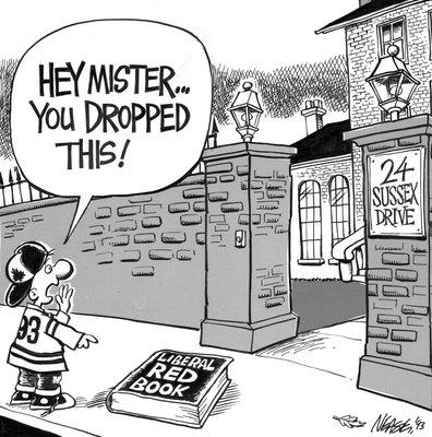 Steve Nease Editorial Cartoons: Liberal Red Book