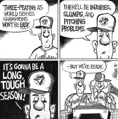 Steve Nease Editorial Cartoons: Tough Season Ahead