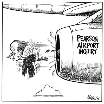 Steve Nease Editorial Cartoons: Pearson Airport Inquiry