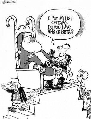 Steve Nease Editorial Cartoons: VHS or Beta?