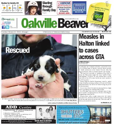 Oakville Beaver, 19 Feb 2015
