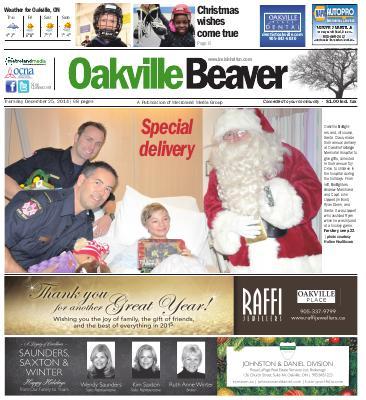 Oakville Beaver, 25 Dec 2014