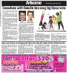 Canadians with Oakville ties snag big Oscar wins