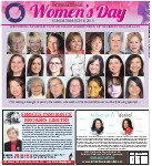International Women's Day, Sunday March 8, 2015: Inspiring change for greater awareness of women's equality