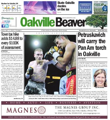 Oakville Beaver, 3 Apr 2015
