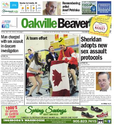 Oakville Beaver, 10 Apr 2015
