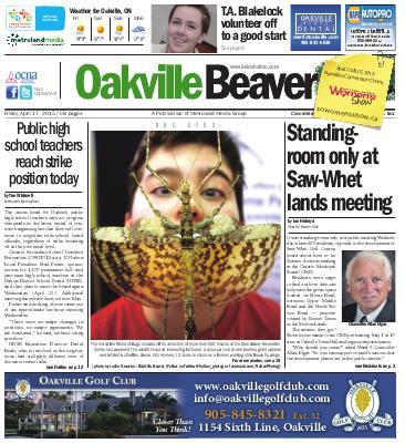 Oakville Beaver, 17 Apr 2015
