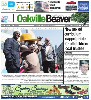 Oakville Beaver, 29 May 2015