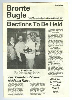 Bronte Bugle, May 1974