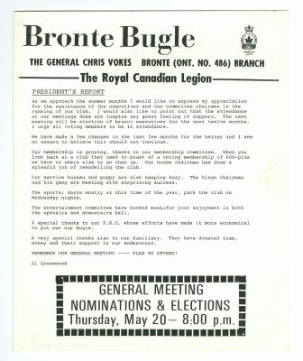 Bronte Bugle, May 1982
