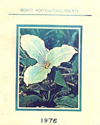 Bronte Horticultural Society Trillium (1976)