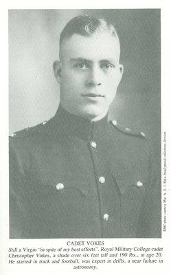 Cadet Christopher Vokes