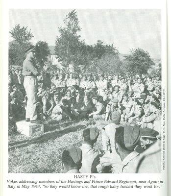 Chris Vokes, May 1944 (Agoro, Italy)