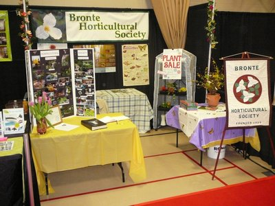 Glen Abbey Home Show booth (April 2015)