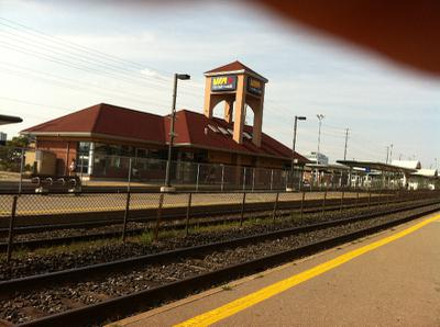 VIA rail Station Oakville, ON