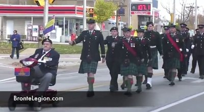 Bronte Legion Remembrance Day Parade 2010