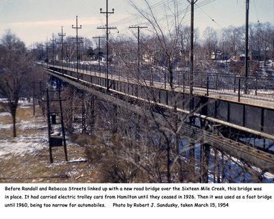 Radial Railway Bridge at Rebecca and Randall Streets