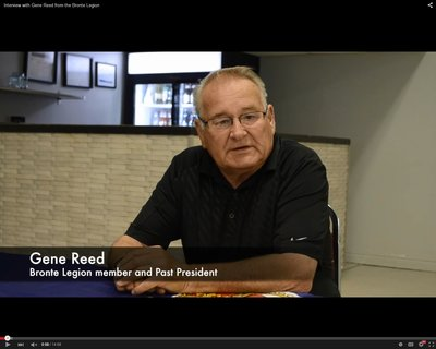 Interview with Gene Reed from the Bronte Legion