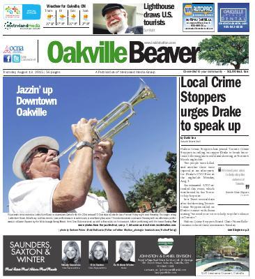 Oakville Beaver, 13 Aug 2015