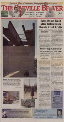 Oakville Beaver, 2 May 2001