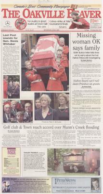 Oakville Beaver, 6 Jun 2001
