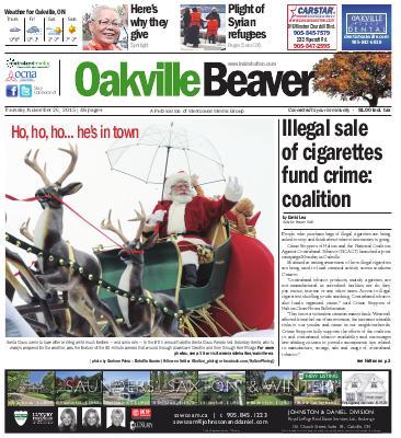 Oakville Beaver, 26 Nov 2015