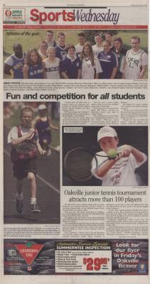Oakville Beaver, 20 Jun 2001