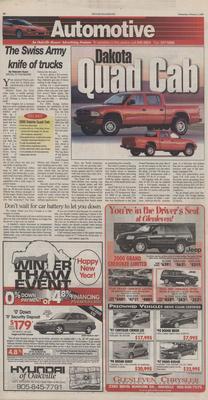 Oakville Beaver, 2 Feb 2000