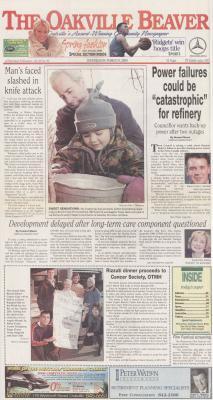 Oakville Beaver, 8 Mar 2000
