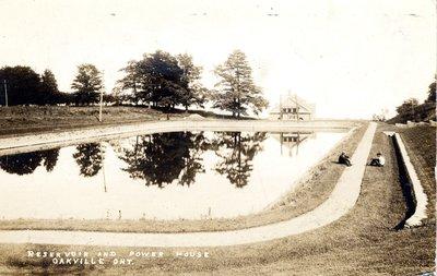 Reservoir and Power House, Oakville