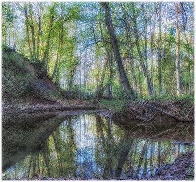 Reflections Along The Fourteen Glen Abbey