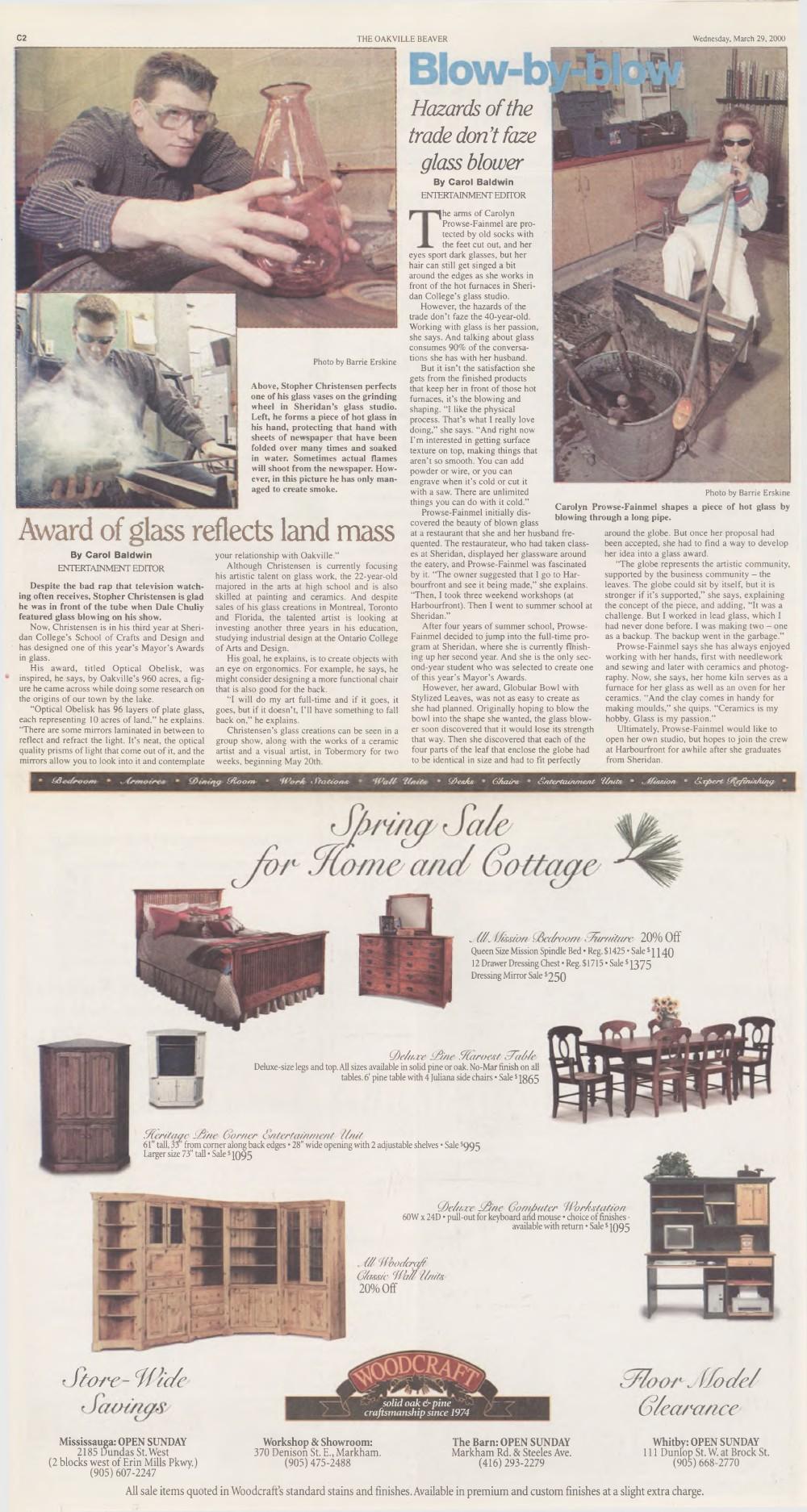 Oakville Beaver, 29 Mar 2000