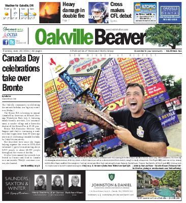 Oakville Beaver, 30 Jun 2016