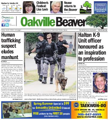 Oakville Beaver, 8 Jul 2016