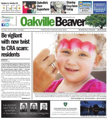 Oakville Beaver, 14 Jul 2016
