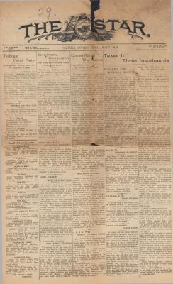 Oakville Star & Independent (Oakville, ON), 3 May 1929