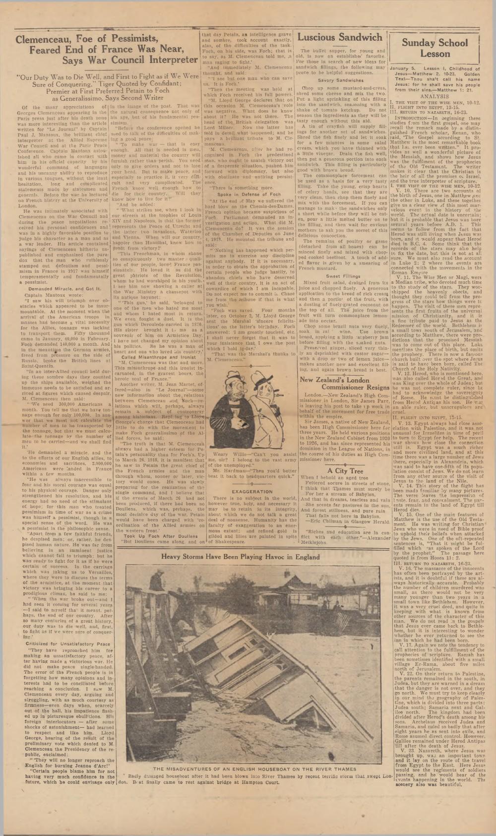 Oakville Star & Independent (Oakville, ON), 3 Jan 1930