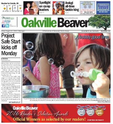 Oakville Beaver, 26 Aug 2016