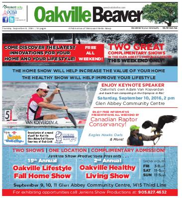 Oakville Beaver, 8 Sep 2016
