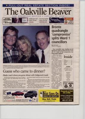 Oakville Beaver, 18 Jan 2006