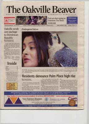 Oakville Beaver, 3 Feb 2006