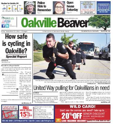 Oakville Beaver, 23 Sep 2016